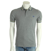 Slim Fit Twin Tipped Shirt