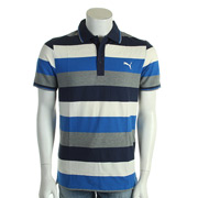 Puma Fun Stripe Pique Polo