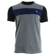 Fred Perry Twill Jersey Panel T-Shirt