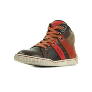 Kickers Wincut Marron Rouge