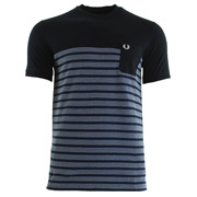 Fred Perry Pique Stripe