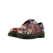 Dr. Martens 1461 FC Dark Red Indigo Floral Mix Backhand
