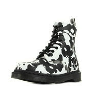 Dr. Martens Pascal Black and White Ink Blot Backhand