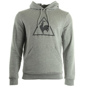 Le Coq Sportif Affutage PO Hood Unbr M Light Heather Grey