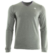 New Lauzet Tee LS M Light Heather Grey