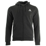 Le Coq Sportif Ailier FZ Hood Brushed M Dark Heather Grey