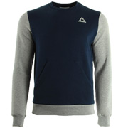 Helior n°2 Crew Sweat M Dress Blue Light Grey