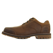 Larchmont Oxford Medium Brown Full-Grain and Suede