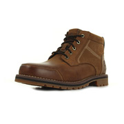 Larchmont Chukka Medium Brown Full-Grain and Suede