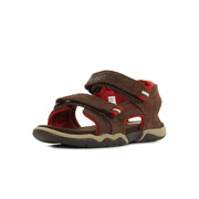 Tidewatch Lth Fabric 2 Strap Dark Brown