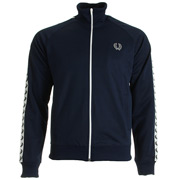 Taped Track Jacket Carbon Blue White