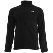 The North Face 200 Shadow Full Zip Black
