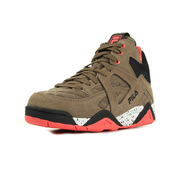 Fila Cage Q Mid Wmn Taupe Gray