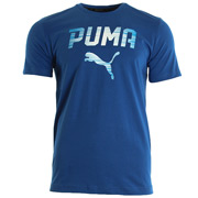 Puma Rebel Tee Blue