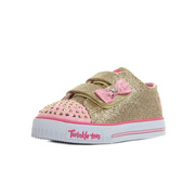 Skechers Twinkle Toes S Light Shuffles Glitzy Games