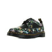 Wingtip Shoe Black Darcy Floral