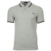 Twin Tipped Fred Perry Steel Oxford Port Black