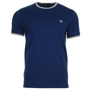 Twin Tipped T Shirt Medieval Blue