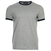 Fred Perry Taped Ringer T-shirt Steel Marl