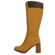 Allington 14'' Side Zip Lace Up Boot Wheat Nubuck