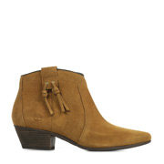 Tassle Boot Tan Suede