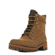 Lace Up Boot Rust Nubuck