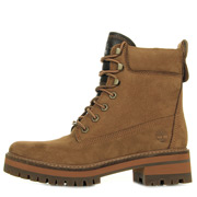 Lace Up Boot Rust