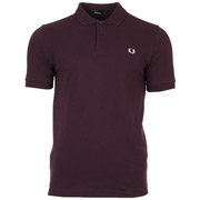 Plain Fred Perry Shirt Bramble