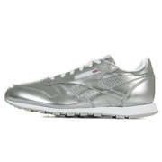 Classic Leather Metallic Silver