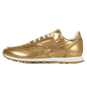 Classic Leather Metallic Gold
