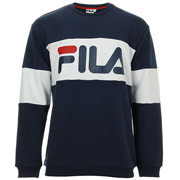Fila Straight Blocked Crew Men