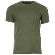 Tonal Taped Ringer T-Shirt