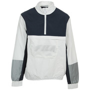 Fila Tyler 1/4 Zip Jacket Peacoat-White