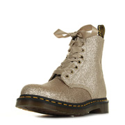 Dr. Martens 1460 Pascal Glitter Pale Gold