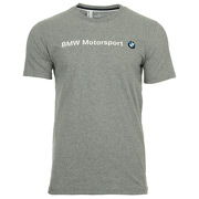 BMW MSP Logo Tee Medium Gray Heather