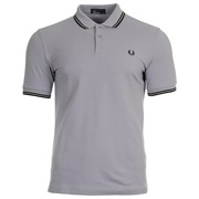 Fred Perry Twin Tipped Shirt Lilac