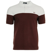 Fred Perry Panelled Pique Shirt