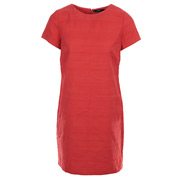 O. Structured Cotton Dress