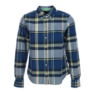 L. Mandras Checked Shirt