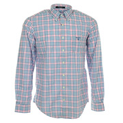 L. Bel Air Poplin Check LS BD
