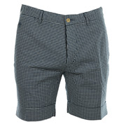 R. Oxford Check Dress Shorts