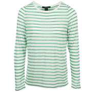 Pointelle Henley Green