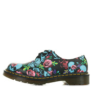 Dr. Martens 1461 Rose Fantasy Backhand Straw Grain