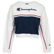 Champion Crewneck Croptop Wn's