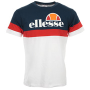 Ellesse Men's T-Shirt TMC Tricolore