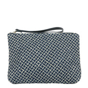 Hamptons Pool Straw Clutch