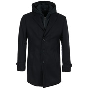 Louis Purple Windstopper Overcoat
