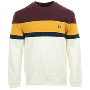 Fred Perry Colourblock Sweatshirt