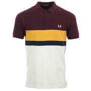Fred Perry Colour Block Polo Shirt