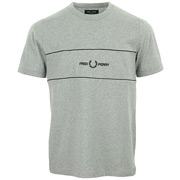 Fred Perry Embroidered Panel T-Shirt